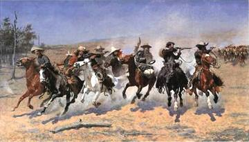 Dash for Timber, Frederic Remington