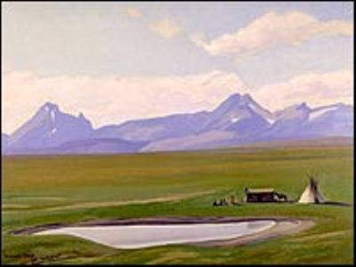Home of The Blackfeet by Dixon Maynard ,1938
