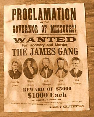 Jesse James The Myth
